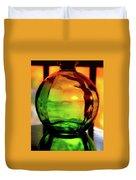 Bottle Of Sunlight Duvet Cover