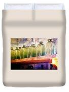 Bottle Row Duvet Cover