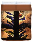 Bottle Tree Sunrise Duvet Cover