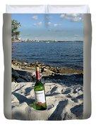 Bottled Beach Duvet Cover