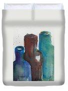 Bottles 3  Duvet Cover