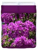 Bougainvillea Blooms Duvet Cover