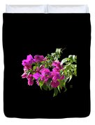 Bougainvillea Cutout Duvet Cover