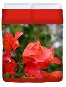 Bougainvillea Glow Duvet Cover