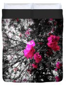 Bougainvillea Invasion Duvet Cover