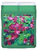 Bouganvillea - Tiled Duvet Cover