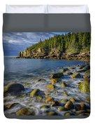 Boulder Beach Morning Duvet Cover