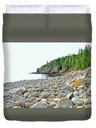 Boulder Beach Duvet Cover