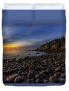 Boulder Beach Sunrise Duvet Cover