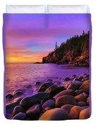 Boulder Beach Sunrise Duvet Cover