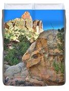 Boulder Castle Duvet Cover