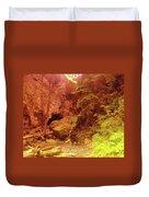 Boulder Cave  Duvet Cover