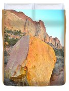 Boulder Color  Duvet Cover