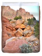 Boulder-notom Color Duvet Cover