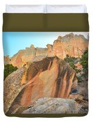 Boulder-notom Varnish Duvet Cover