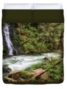 Boulder River Duvet Cover