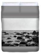 Boulders In The Ocean Duvet Cover