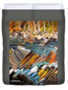 Boulders In The River Duvet Cover