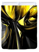 Bounded By Light Abstract Duvet Cover
