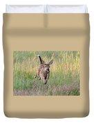 Bounding Bambi Duvet Cover