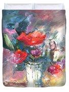 Bouquet De Chez Moi 01 Duvet Cover