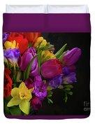 Floral Dance Duvet Cover