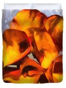 Bouquet Of Calla Lilies Duvet Cover