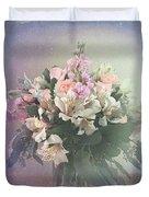 Bouquet Of Love Duvet Cover