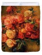 Bouquet Of Roses 1900 Duvet Cover