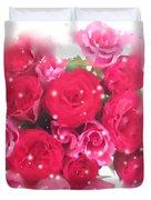 Bouquet Of Roses Duvet Cover