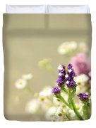 Bouquet Of Wildflowers Duvet Cover