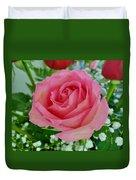 Bouquet Rose Duvet Cover