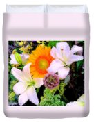 Bouquet Softly There Duvet Cover