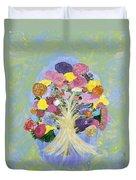 Bouquet Today Duvet Cover