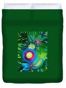 Bouquet Tropical Duvet Cover