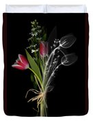 Bouquet X-ray Duvet Cover