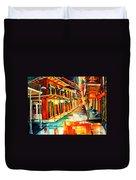 Bourbon Street Blitz Duvet Cover
