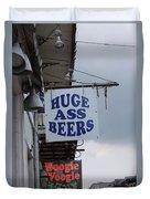 Bourbon Street Signs Duvet Cover