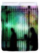 Bourbon Street Stroll Duvet Cover