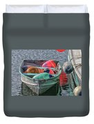 Bouys In A Boat Duvet Cover