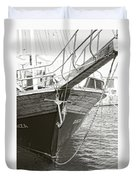 Bow Of The Boat Duvet Cover
