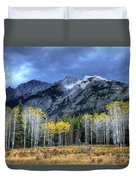 Bow Valley Parkway Banff National Park Alberta Canada II Duvet Cover