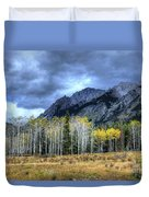 Bow Valley Parkway Banff National Park Alberta Canada IIi Duvet Cover