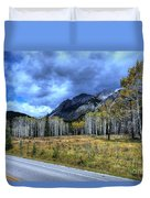 Bow Valley Parkway Banff National Park Alberta Canada Duvet Cover
