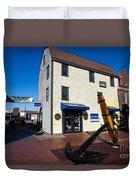 Bowen's Wharf Newport Rhode Island Duvet Cover