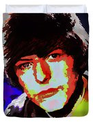 Bowie 60s Fringe  Duvet Cover