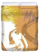Bowie Modern Love  Duvet Cover