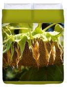 Bowing Sunflower Duvet Cover
