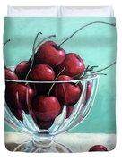 Bowl Of Cherries Duvet Cover