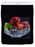 Bowl Of Fruit Duvet Cover